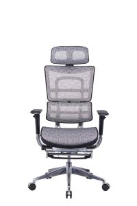 BIFMA Standard High Back Lumbar Support Office Chair with Footrest pictures & photos