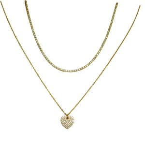 Gold and Silver Loving Necklace Pendants Animal Necklaces for Women Long Chain Necklaces Summer Necklaces N6611 pictures & photos