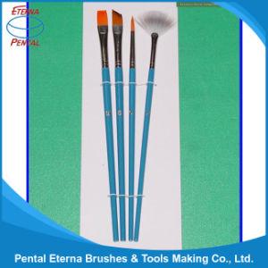 4PCS Wooden Handle Artist Brush Set (AB-078) pictures & photos