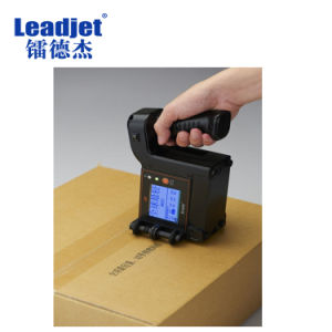 Chinese Industrial Cij Small Character Hand Held Inkjet Date Printer pictures & photos