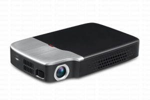 Yi-605 Newest Model Mini DLP Projector Home Use Bluetooth Beamer Built-in Android and WiFi System Hot Sell Projector pictures & photos