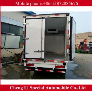 JAC 4X2 3tons 6 Wheels Frozen Freezer Truck pictures & photos