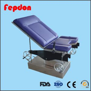 Hospital Gynecology Delivery Operating Table (HFEPB99B) pictures & photos