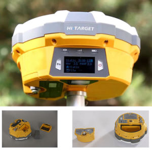 Hi-Target Dual Frequency Land Survey GPS Rtk GPS Gnss Receiver pictures & photos