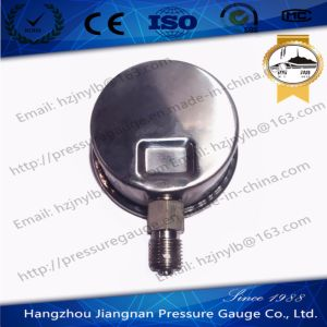 60mm 2.5′′ Stainless Steel Oil Pressure Gauge Filled with Glycerin pictures & photos