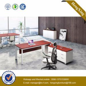 Melamine Formica PVC Laminated L Shape Executive Office Desk (HX-NJ5097) pictures & photos