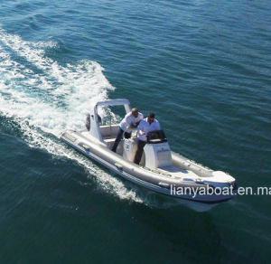 Liya 17 Feet Motor Rib Boat Rib Hypalon Inflatable Boat pictures & photos