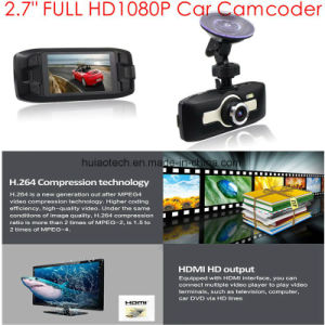 "2017 2.7"" Car Black Box Full HD1080p Dash Camera DVR with 5.0mega Sony Imx Car Camera, Car Digital Video Seamless Loop Recorder, WDR, Parking Control pictures & photos"