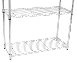4 Shelf Chrome Metal Wire Shelving Rack for Home Storage pictures & photos