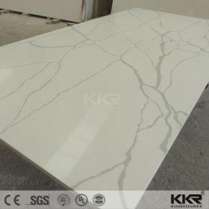 Artificial Slab Engineered Stone Pure Color Quartz Stone pictures & photos