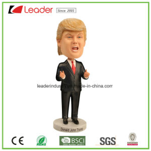 Bobble Polyresin Hillary Lady Bobblehead for Home Decoration pictures & photos