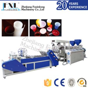 Double Layer Plastic Sheet Extruder for PP PS pictures & photos