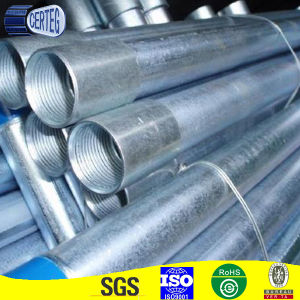 Gi Steel Hollow Section Round Pipe with Couple (SPO58) pictures & photos