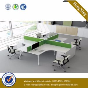 Chinese Furniture Manufacturer Melamine Office Desk Partition Workstation (HX-NJ5071) pictures & photos
