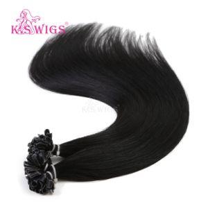 Top Quality Nail Tip Hair Keratin Human Hair pictures & photos