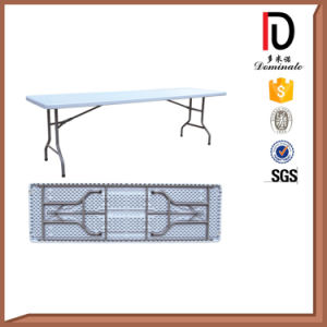 Hot Sale Plastic Folding Half Dinner Table (BR-P009) pictures & photos