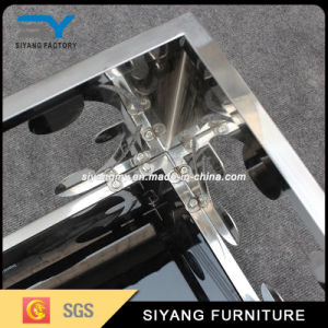 Modern Marble Top Stainless Steel MDF TV Stand pictures & photos
