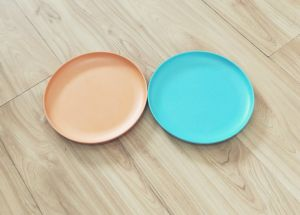 (BC-P2023) Colorful Bamboo Fiber Tableware Plate pictures & photos
