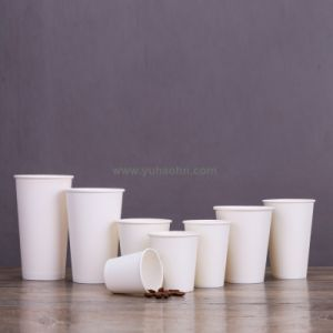 8/10/12/24oz 90mm Diameter Whole Size White Coffee Paper Cups pictures & photos