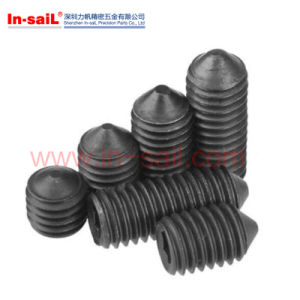 ISO7435 DIN417 High-Strength Steel Slotted Set Screws pictures & photos