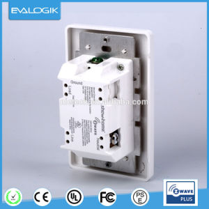 Z-Wave White on/off Wall Button Switch for Smart Home pictures & photos