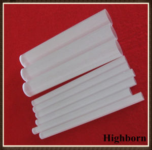 Semi-Transparent Fused Quartz Glass Tube Pipe pictures & photos