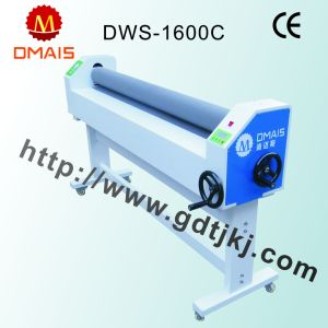 Hot Sale Cheap Cost 1600 mm Dws-1600c Manual Cold Laminator pictures & photos