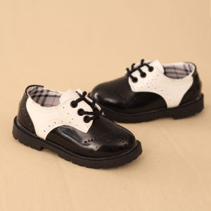 2017 Kids Casual Shoes Genuine Leather Children School Shoes Flat Shoes pictures & photos