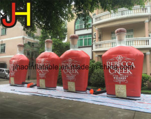 Giant Inflatable Advertising Bottle for Sale pictures & photos