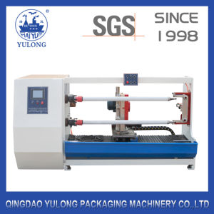 Double Shafts Auto Cutter Machine for OPP/Masking Tapes/Double Side Tapes pictures & photos