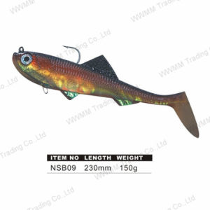 Saltwater Trolling Soft Fishing Lure (NSB09) pictures & photos