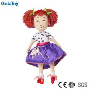 Custom Stuffed Soft Toy Girl Doll Toy with Dresses pictures & photos