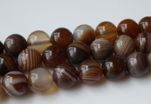 Various Colored Agate Strand