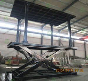 Heavy Loading Capacity Underground Car Lift pictures & photos