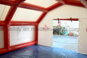 Self Erecting Pneumatic Inflatable Medical Relief Tent pictures & photos