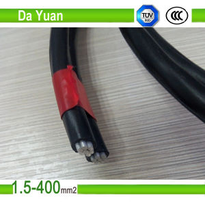 Duplex AAC/XLPE Insulated 4AWG+4AWG Dachshund ABC Cable pictures & photos
