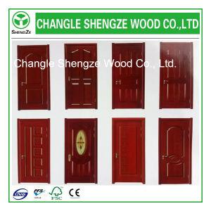 New Design Moulded Veneer Door Skin pictures & photos