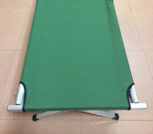 Aluminum Folding Camping Bed Military Cot Bed pictures & photos