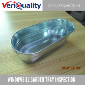 Windowsill Garden Tray Quality Control Inspection Service in China pictures & photos