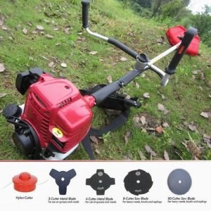 Gx35 Straight Shaft Brush Cutter with Rolling Handle pictures & photos