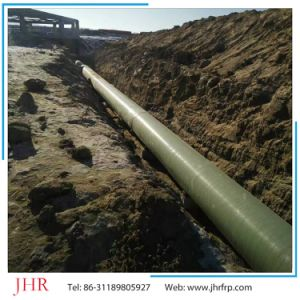 Smooth Internal Surface FRP Fiber Glass Sewage Water Pipe pictures & photos