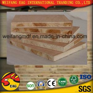 18mm Pine Core E1 Glue High Grade Good Quality Melamine Blockboard for Furniture pictures & photos