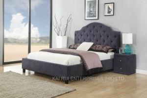 Fabric Adult Modern Purple Pupular Soft Furniture Bedroom Furniture pictures & photos