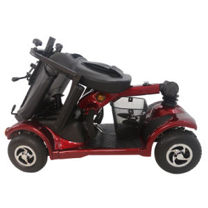 China Functional 4 Wheel Electric Scooter for Elderly Person pictures & photos