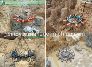 SPF500B hot sale hydraulic concrete pile breaker pictures & photos