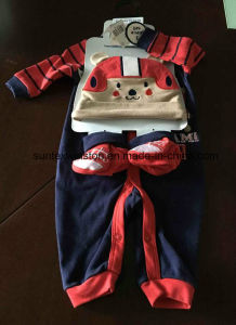 Newborn Baby Gift Set 3PCS Baby Clothes Gift Set Clothing Set pictures & photos