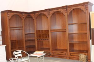 Solid Wood Walk in Closet in L Shape pictures & photos