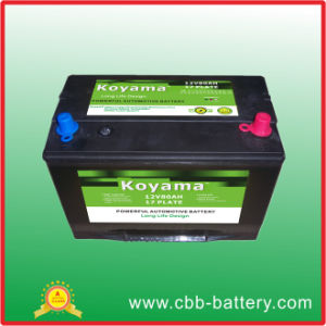 JIS Standrd Maintenance Free Calcium Battery -12V80ah pictures & photos