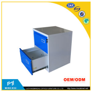 China Supplier Metal A4 File 2 Drawer File Cabinet / 2 Drawer Steel File Cabinet pictures & photos