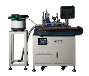 USB Connector Soldering Machine, Mobile Cable Making Machine
